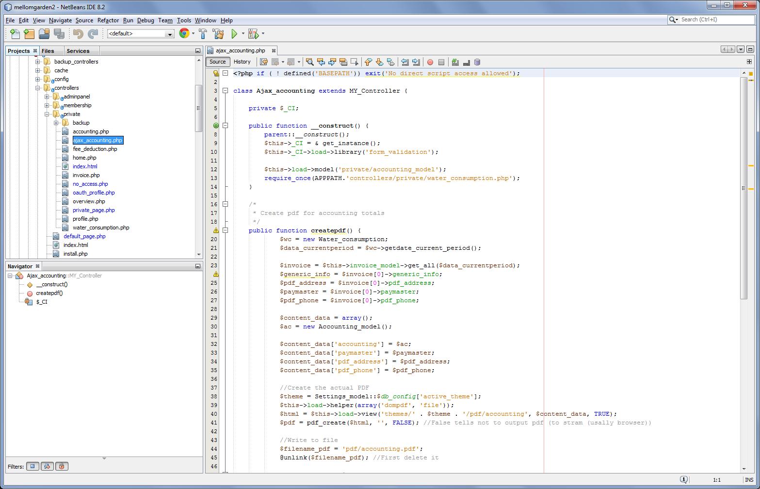 webbutveckling med codeigniter - Webbdesign och