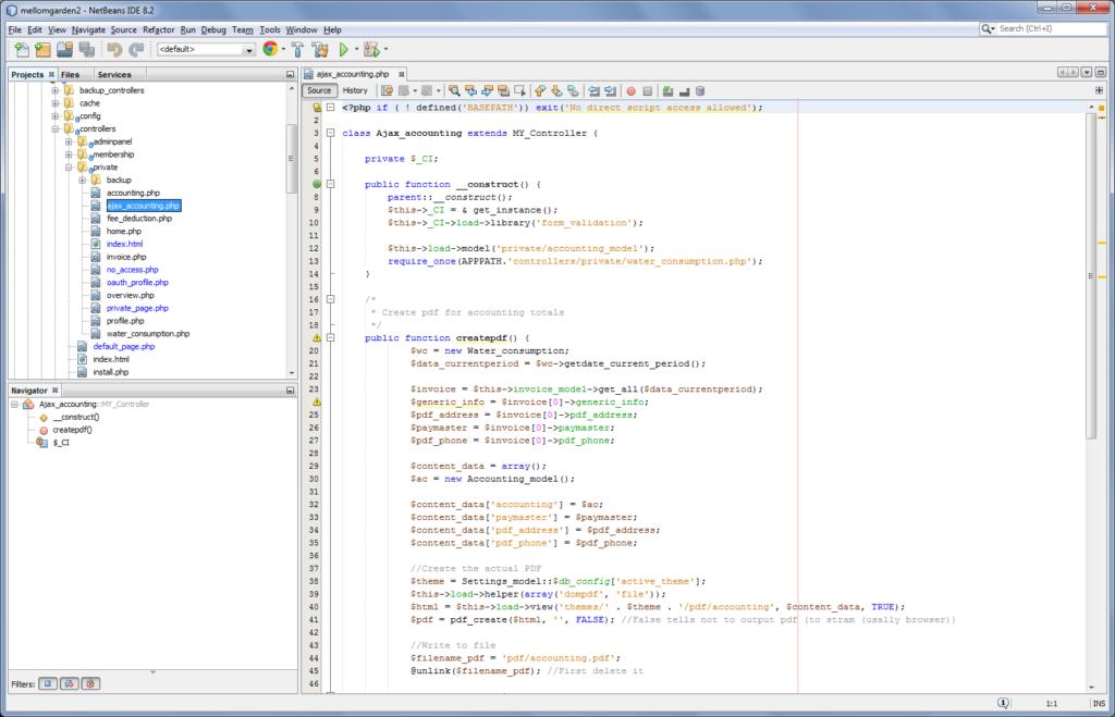 webbutveckling codeigniter
