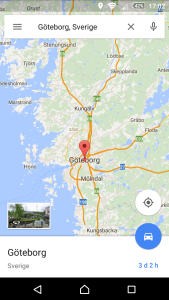 Nya Google maps