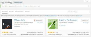 Bra plugins för wordpress hemsida